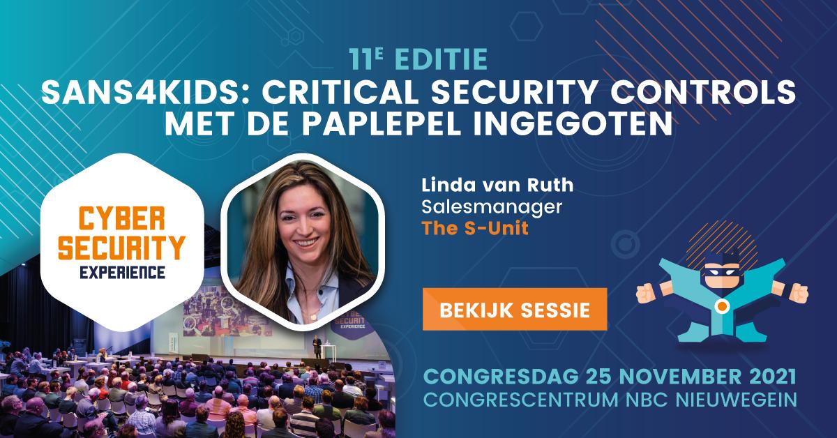 SANS4KIDS: Critical security controls met de paplepel ingegoten